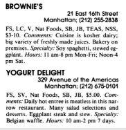 Brownie's Yogurt Delight