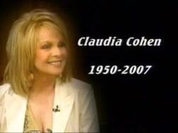 Claudia Cohen obit