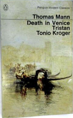 Death in Venice Tonio Kroger