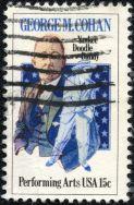 George M. Cohan stamp
