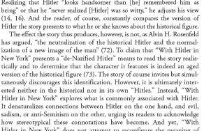 Hitler criticism