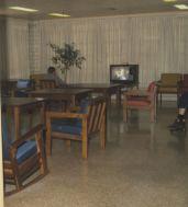 hospital TV room