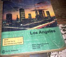 L.A. phone book 1978