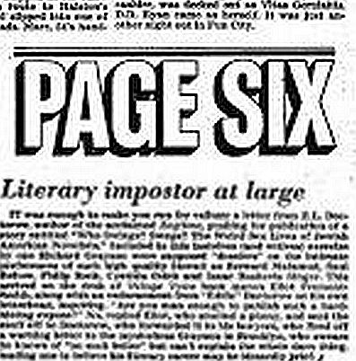 Literary Imposter Mid-July 78