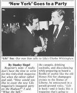 New York Mag Stanley Siegel