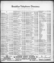 Phone directory page