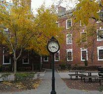 Rutgers clock