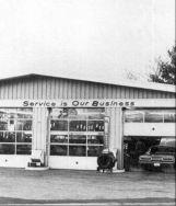 service station gas station