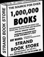 Strand Book Store ad 78
