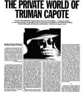 the private world of truman capote