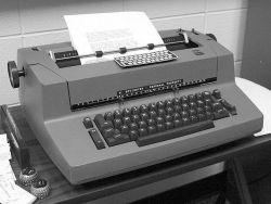 typewriter ibm