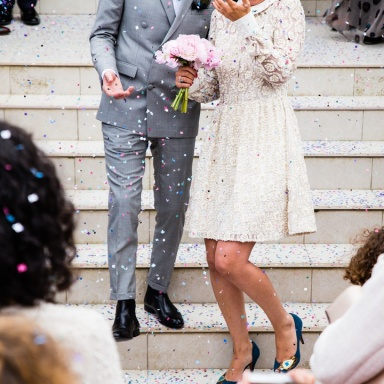 Here's What I Learned From Attending The Wedding Of Two Virtual Strangers