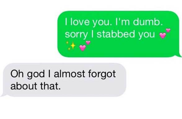 44 Real Texts Between Couples That Will Make You Feel Instantly Better About Your Own LoveLife