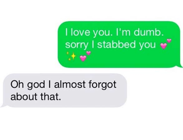 44 Real Texts Between Couples That Will Make You Feel Instantly Better About Your Own Love Life