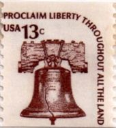 13 cent stamp