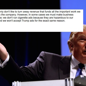 Buzzfeed: 'We Won't Run Trump Ads For The Same Reason We Won't Run Cigarette Ads—They Are Hazardous For Your Health'