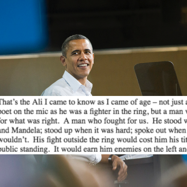 President Obama's Moving Tribute To Muhammad Ali Will Make You Feel Things