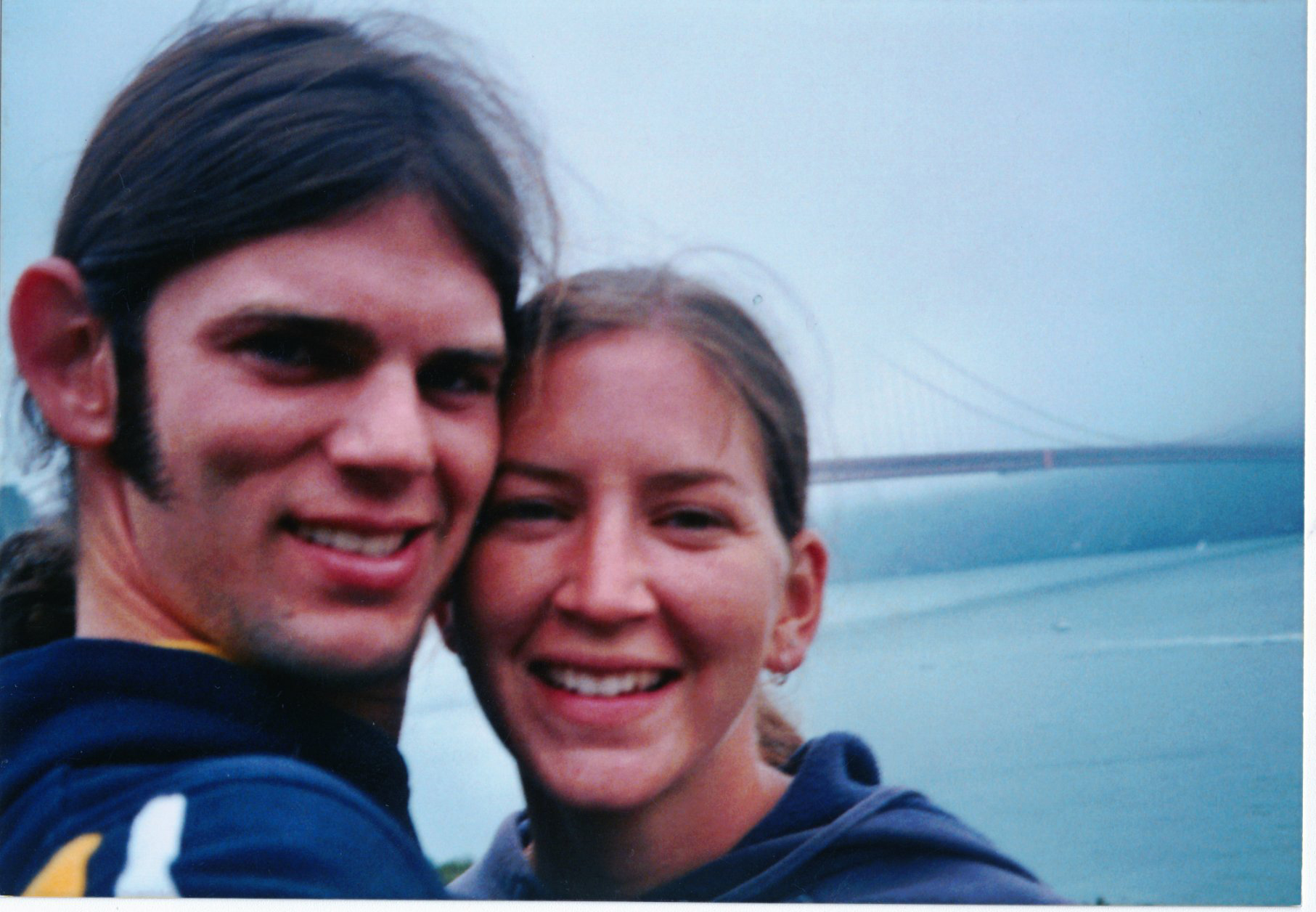 A photo the couple took not longer before their murder.