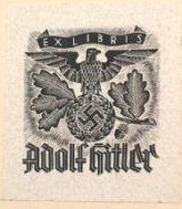 Ex Libris Adolf Hitler