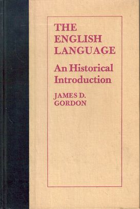 history of the english language text