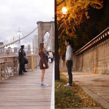 40 Heartwarming Split-Screen Photos That Will Make You Ache For A Long-Distance Relationship