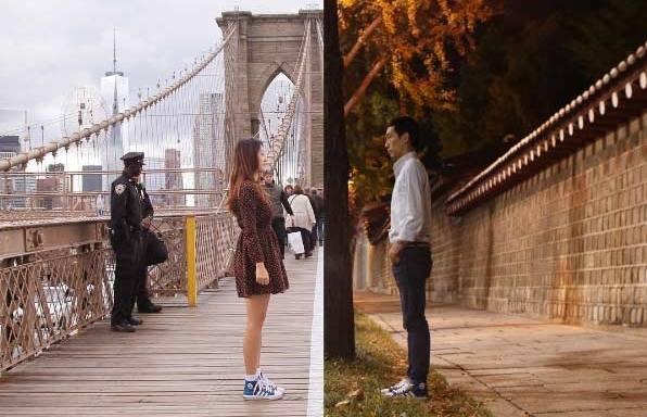 40 Heartwarming Split-Screen Photos That Will Make You Ache For A Long-DistanceRelationship