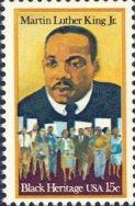 MLK stamp 1979