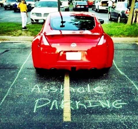 44 Crazy Photos That Prove Some People Suck At Parking (And Life)