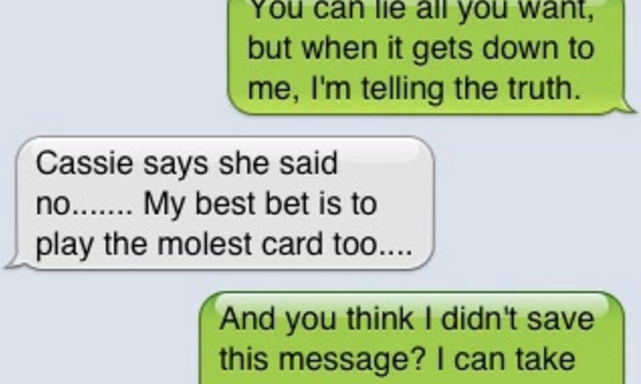 9 Texts That Reveal Two Girls Plotting To Frame An Innocent Man For Rape To Cover-UpCheating