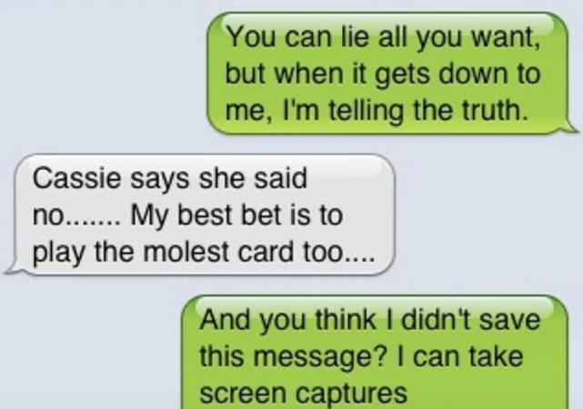 9 Texts That Reveal Two Girls Plotting To Frame An Innocent Man For Rape To Cover-Up Cheating