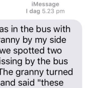 What This Grandmother Said When She Saw Two Girls Kissing Will Make You Laugh Your Ass Off