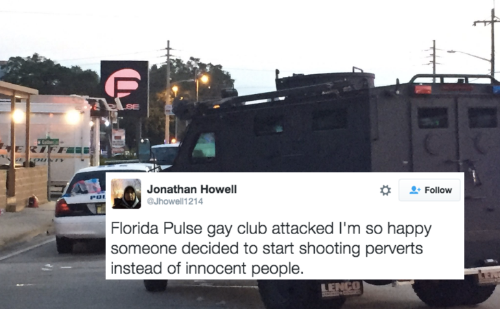 Here Are All The People Applauding The Orlando Gay Club Shooter