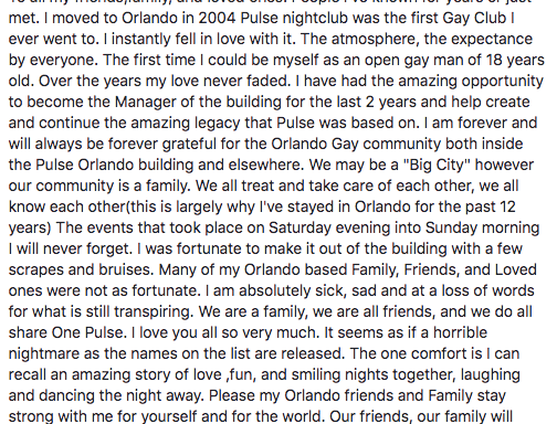Here Is What The Manager Of Pulse Nightclub Had To Say About TheAttack