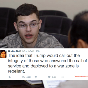 Iraq War Soldier Tells The World EXACTLY What He Thinks Of Donald Trump's Record On Veterans