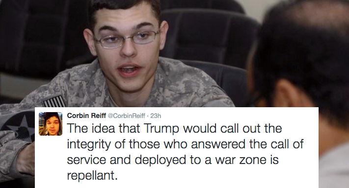Iraq War Soldier Tells The World EXACTLY What He Thinks Of Donald Trump's Record OnVeterans