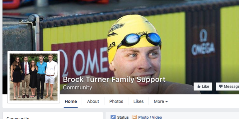 'Brock Turner Family Support' Is A Real FacebookPage