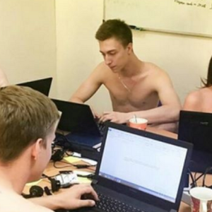The Belarusian President Just Triggered The Hottest Workplace Striptease You'll Ever See