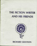 The Fiction Writer and His Friends Chapbook