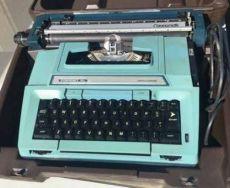 typewriter my coronet 1978
