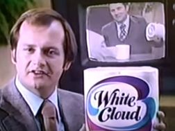 white cloud toilet paper