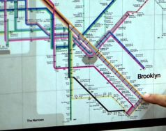 1979 subway map