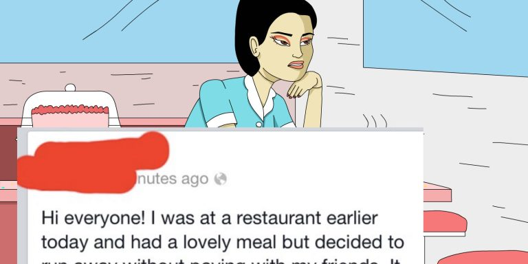 This Restaurant Owner Totally OWNED A Customer Who Tried To Literally 'Dine AndDash'