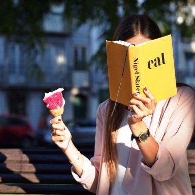 Be The Girl Who Eats Gelato