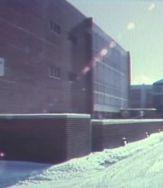 BC campus back snow