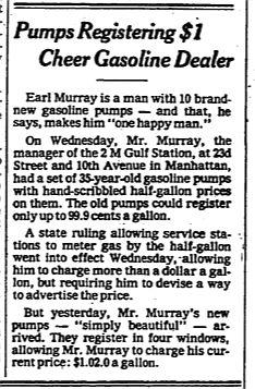 Gas pumps 1979