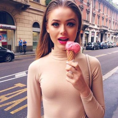 40 Photos Of Hot Girls Eating Junk That Will Make You Want Sex (And Food) Immediately