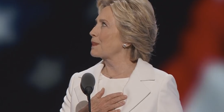 Last Night Hillary Clinton Made History So Why Didn't She Say The Words 'Black LivesMatter'