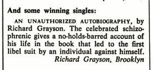 NY Magazine Feb 1979 contest