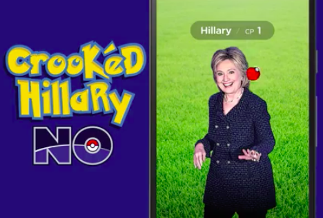 Why The Fuck Did Donald Trump Make A Video Of Him Catching Hillary Clinton In APokéball?