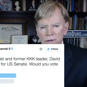 A Poll Asked People If They Support A Former KKK Leader For Senate. The Results Are Horrifying.